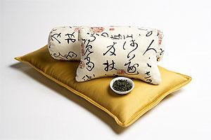 Green-tea-pillows